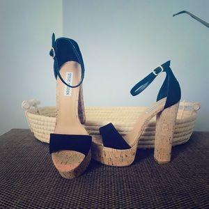 Steve Madden NWOT platform shoes sandals sz 8
